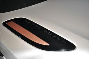 Range Rover Velar Exterior Copper Trim Detail, Malaysia