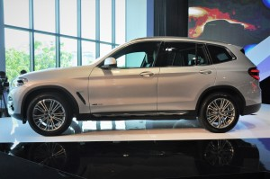 BMW X3 xDrive30i Luxury Side View, Malaysia Launch