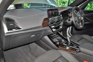 BMW X3 xDrive30i Luxury Dashboard, Malaysia