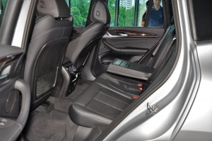 BMW X3 xDrive30i Luxury Rear Seats, Malaysia
