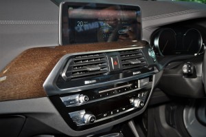BMW X3 10.25-inch Central Information Display, Malaysia