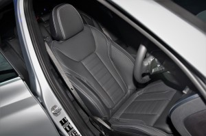 BMW X3 Front Seat, Leather Vernasca Black, Malaysia