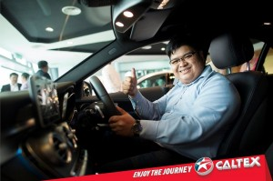 Caltex Visa Wave & Win Promotion, Mercedes-Benz C200 AMG, Chevron Malaysia Ltd