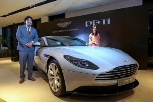 Aston Martin Kuala Lumpur, DB11 V8 Launch, Jerry Lee, Nancy Chen