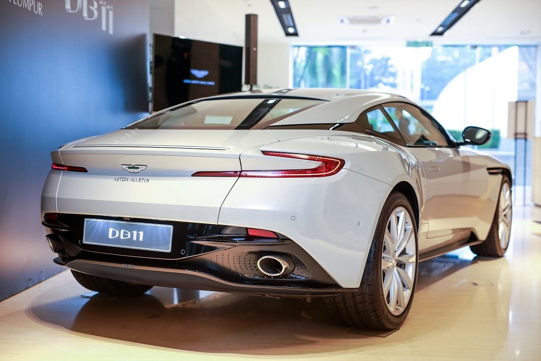 aston martin db11 v8 launched in malaysia. Black Bedroom Furniture Sets. Home Design Ideas