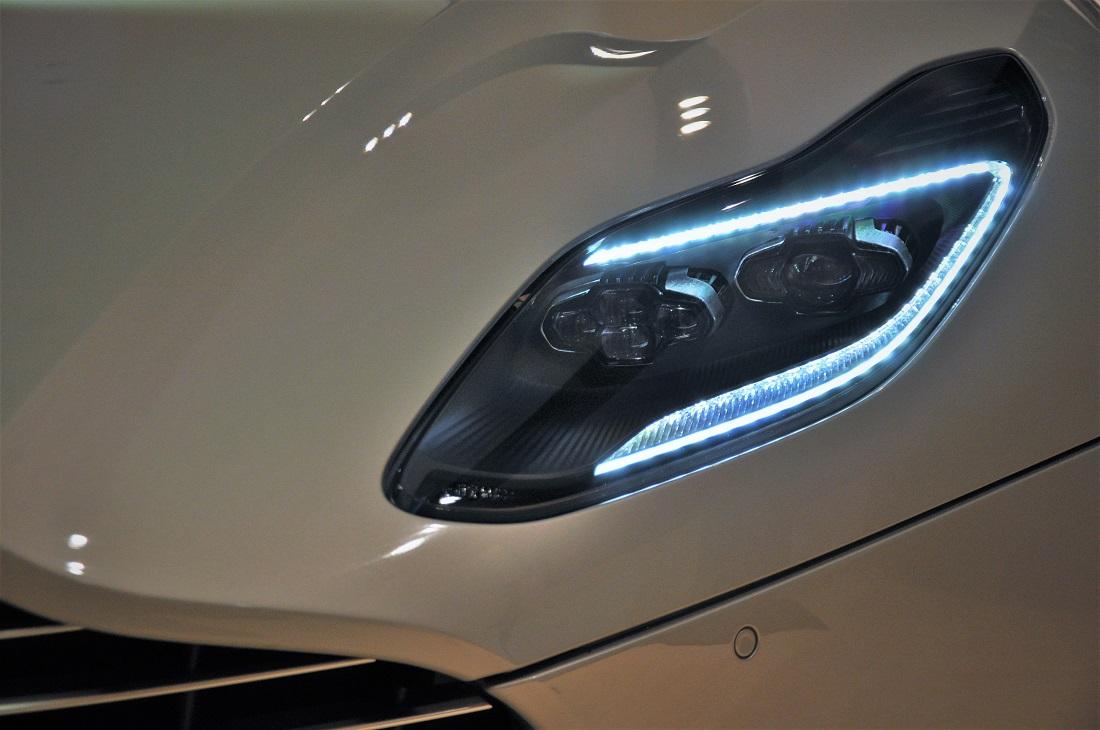 aston martin db11 v8 headlight, led, malaysia - autoworld.my