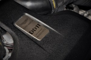 Aston Martin DB11 V8 Engine Inspection Badge