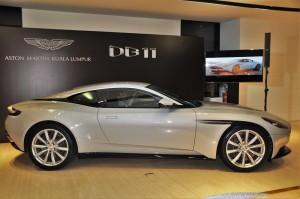 Aston Martin DB11 V8 Side View, Malaysia
