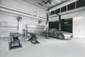 Aston Martin Service Centre Work Bay, Sungai Buloh, Malaysia, Wearnes Quest