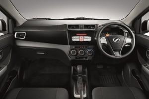Perodua Bezza GXtra_Interior - Stock Image