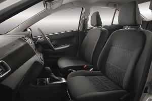 Perodua Bezza GXtra_Interior Side - Stock Image