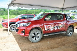 Malaysia Autoshow 2018 Toyota Hilux 4x4 Off-Road Experience