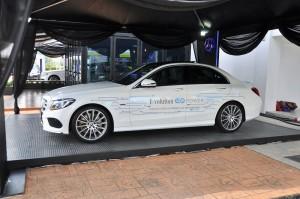 Malaysia Autoshow 2018 Mercedes-Benz C350e AMG EQ Power