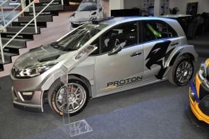 Malaysia Autoshow 2018 Proton Iriz Rally