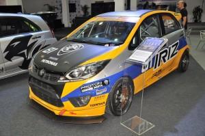 Malaysia Autoshow 2018 Proton Iriz Track Car