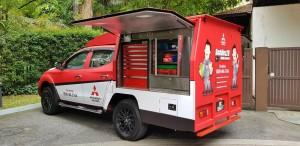 Mitsubishi Mobile Service Unit, Special Mitsubishi Diagnostic tools - Kuching, Sarawak, East Malaysia
