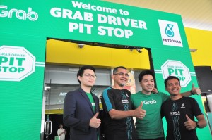 Petronas Grab Driver Pit Stop, Mutiara Damansara