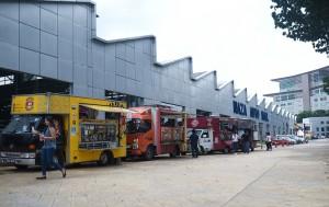 Naza Automall Petaling Jaya, Food Trucks