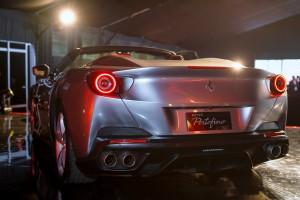 Ferrari Portofino Rear View, Malaysia