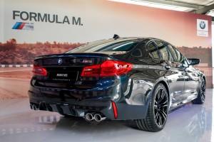 BMW M5 Rear View, Malaysia 2018