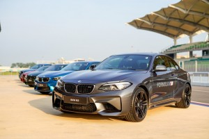 We also drove other M's at the BMW M Track Experience 2018