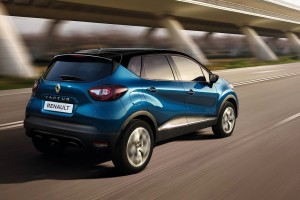 Renault Captur Facelift, Ocean Blue body Diamond Black roof - Malaysia 2018