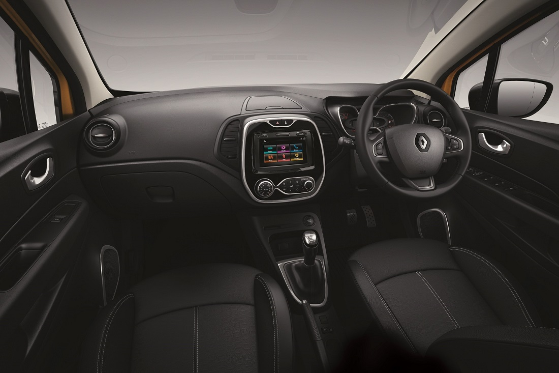 New Renault Captur Facelift, Interior - Malaysia 2018 - Autoworld.com.my