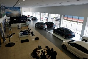 Wearnes Autohaus Service, Pre-Owned Vehicles Showroom