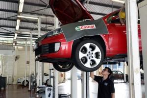 Wearnes Autohaus Service, 4S Centre, Service Bay, Castrol Lubes, Kuala Lumpur