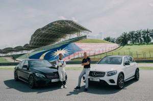 Mercedes-AMG C 43 & GLC 43, Mark Raine, Nabil Jefri, Malaysia