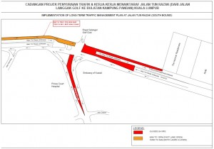 Naza Engineering & Construction - Jalan Tun Razak KL Road Closure