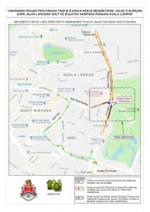Naza Engineering & Construction - Alternative Roads, Jalan Tun Razak Closure