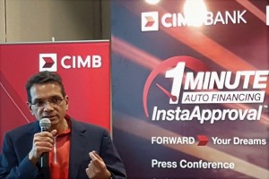 CIMB Bank, 1 Minute Auto Financing Insta Approval, Samir Gupta, Malaysia