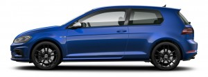 Volkswagen Golf R 3 Door Side View, Malaysia