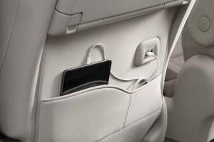 Nissan Serena S-Hybrid_USB Port_2nd Row - Malaysia