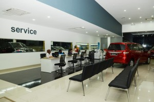 Service counter 1