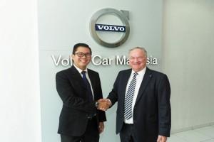 Volvo Car Leasing, Volvo Car Malaysia, MyMotor, Lennart Stegland, Justin Cheah