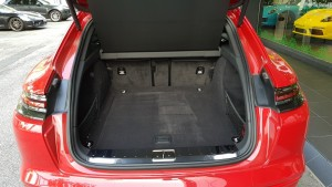 520 litre rear boot. 20180614_174819