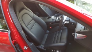 Sporty driver's seat, Panamera Sport Turismo 20180614_174727