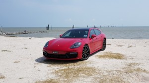 With AWD, the soft sand posed no traction problems