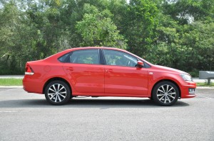 Volkswagen Vento Highline Side View, Malaysia