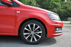Volkswagen Vento Highline, 1.2 TSI, Nose Side View, Malaysia
