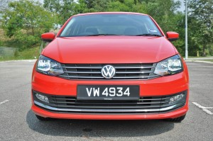 Volkswagen Vento Highline, Front, Malaysia