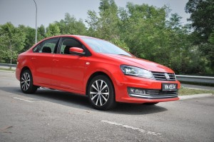 Volkswagen Vento Highline Front Three Quarter View, VW Malaysia