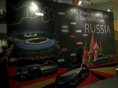 NZ Wheels And Mercedes-Benz Malaysia Host World Cup 2018 Live Viewing Party For Customers And Fans