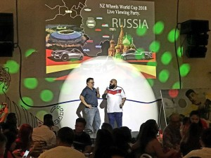 NZ Wheels World Cup 2018 Live Viewing Party, Mercedes-Benz Malaysia