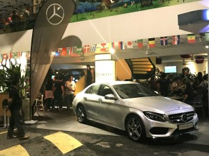 NZ Wheels 2018 World Cup Live Viewing Party, Mercedes-Benz Malaysia Display Car