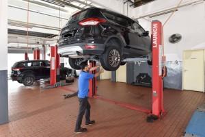 Ford Kota Kinabalu, Service Center - Sime Darby Auto Connexion, Sabah, Malaysia