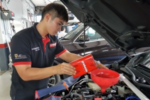 Autonitty Sdn Bhd, Oil Change, Service Bay, Pakelo Lubricants, Malaysia