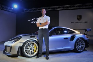 Porsche 911 GT2 RS Launch, Malaysia, Arnt Bayer, CEO Sime Darby Auto Performance 2018
